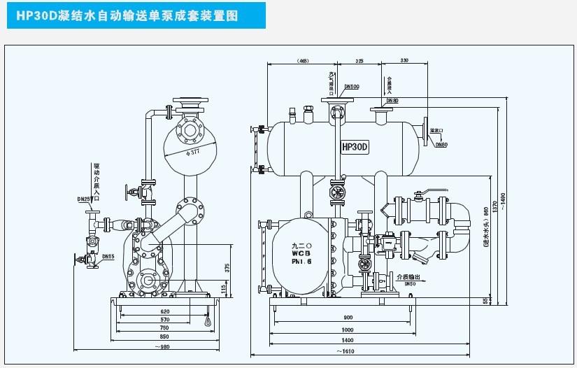 HP30D万博娱乐登陆注册自动输送单泵成套万博文化app官网图