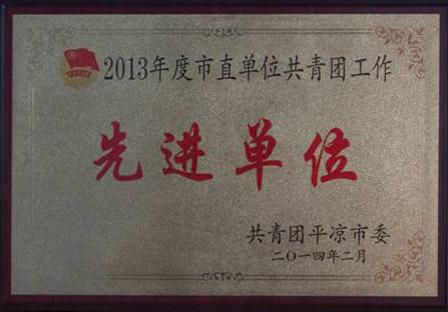 2013年度市直单位共青团工作先